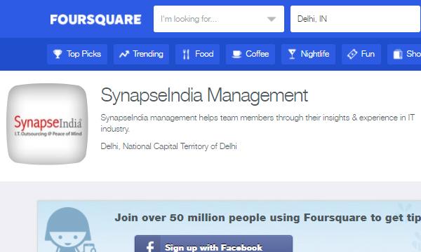 shamit khemka foursquare synapseindia